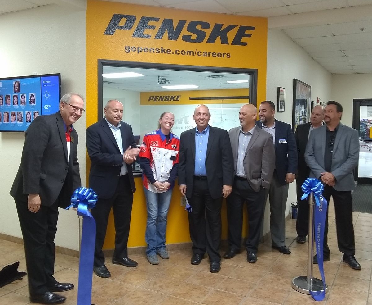 New Penske-Branded Classroom Debuts at Western Tech College in El Paso, Texas