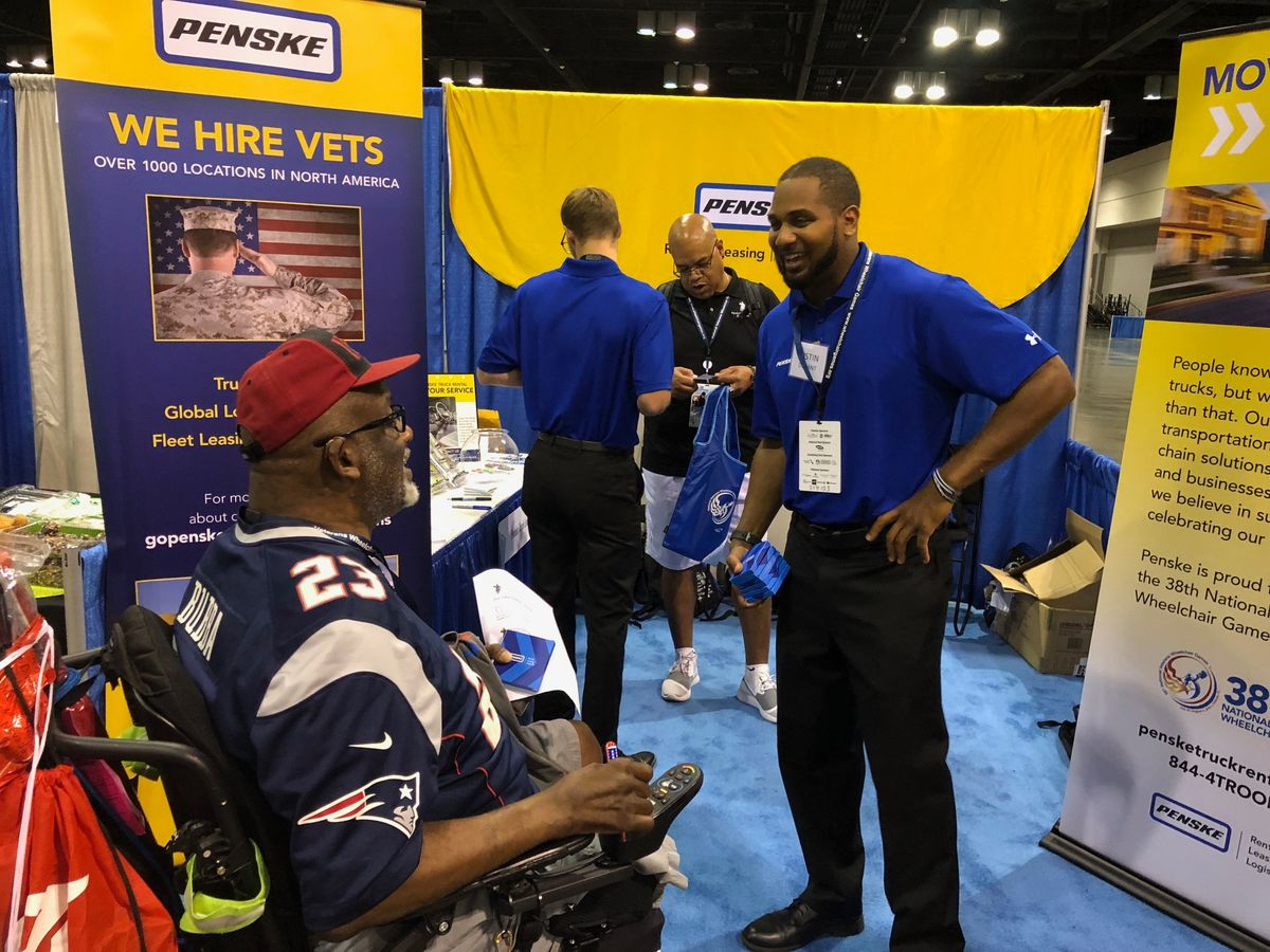 Penske is a Proud Supporter of the 38th Annual National Veterans Wheelchair Games