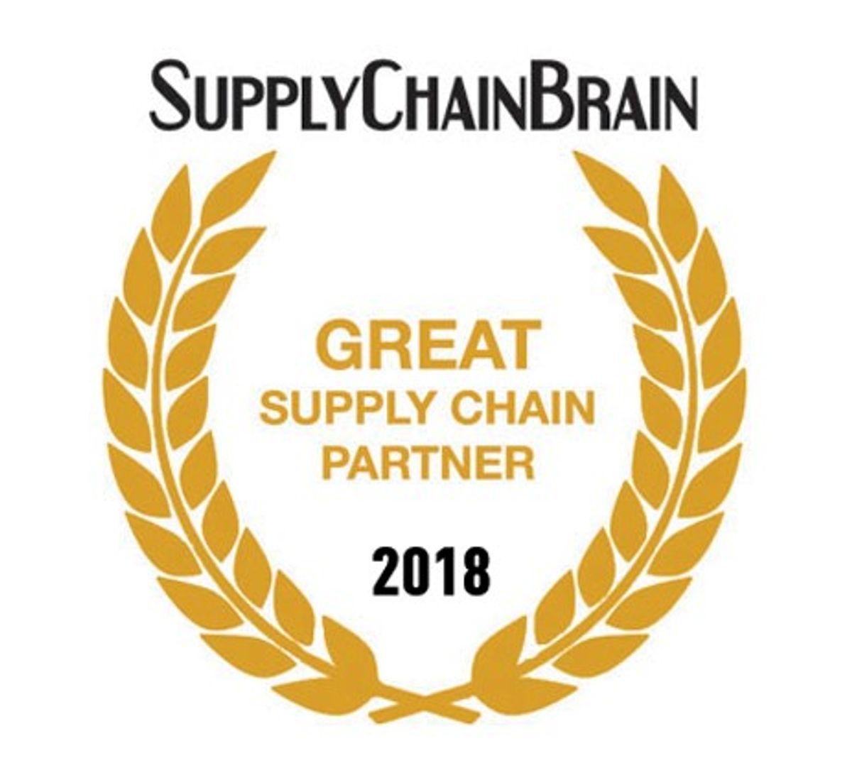 Penske Logistics is a SupplyChainBrain 2018 Great Supply Chain Partner