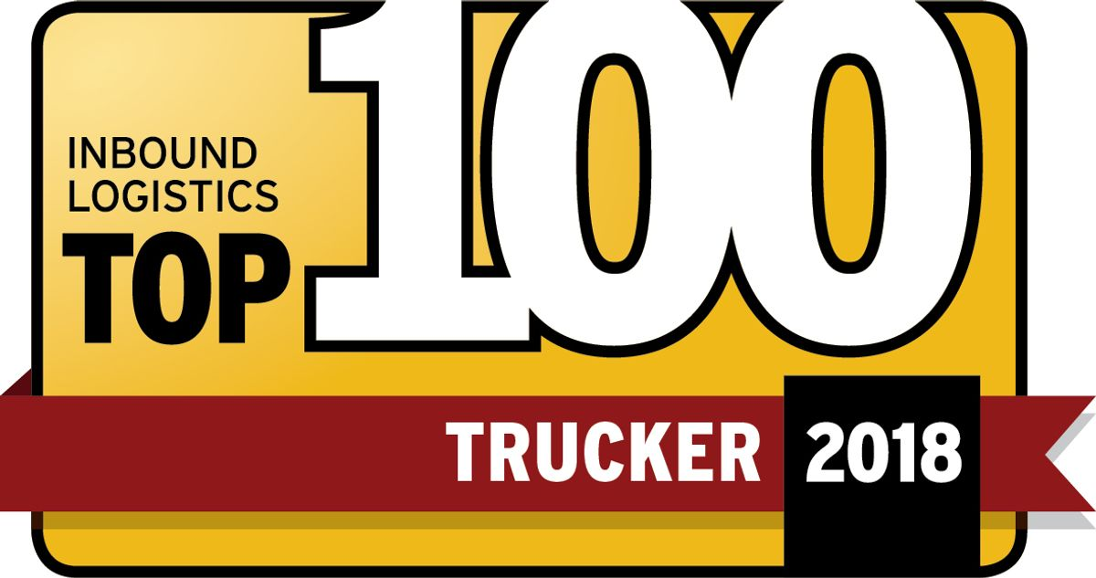 Penske Logistics Honored as Top 100 Trucker by Inbound Logistics Magazine