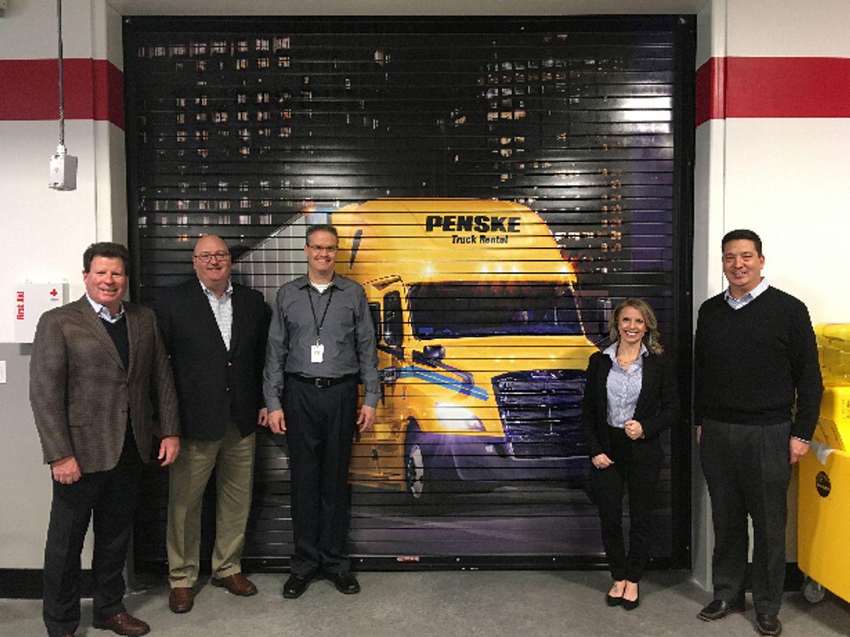 New UTI Campus Opens Penske-Branded Diesel Lab