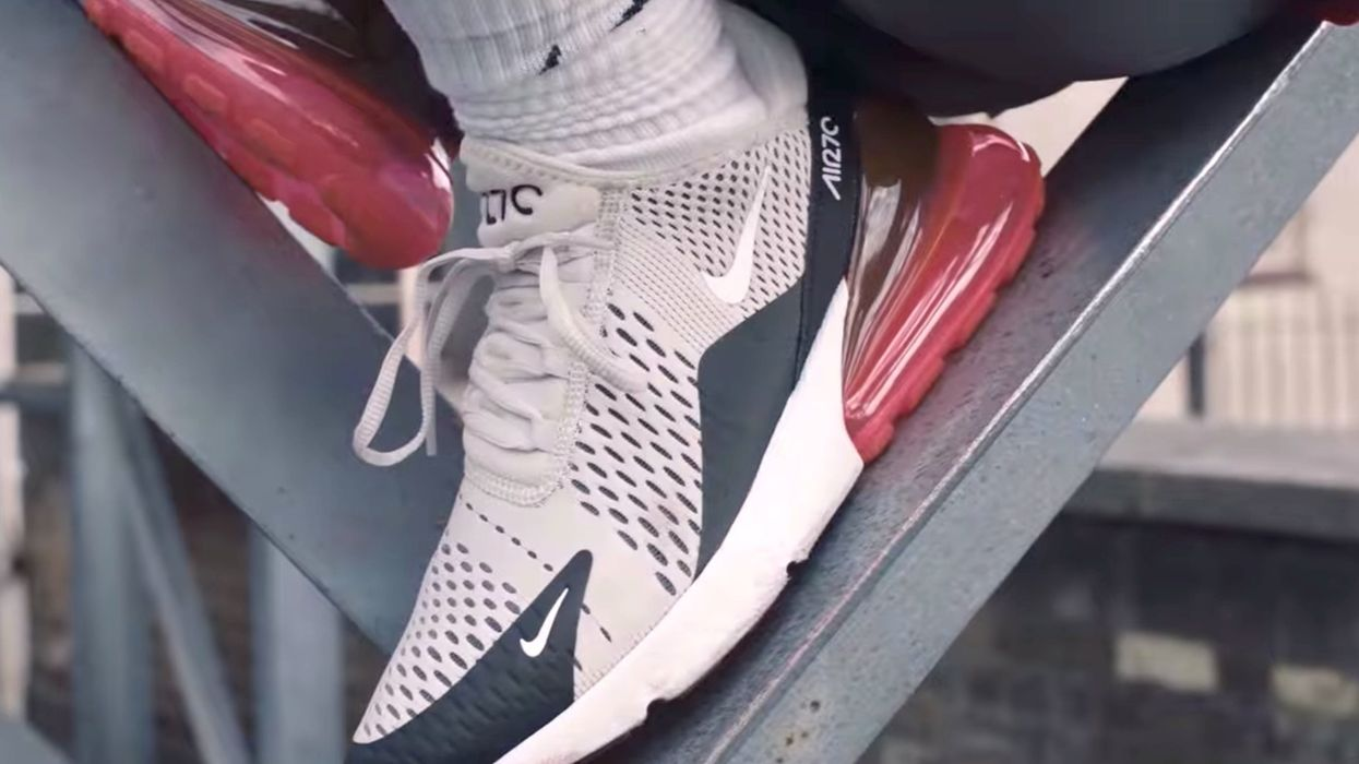 Muslims are outraged this 'blasphemous' design on a Nike shoe — and they want it taken off shelves