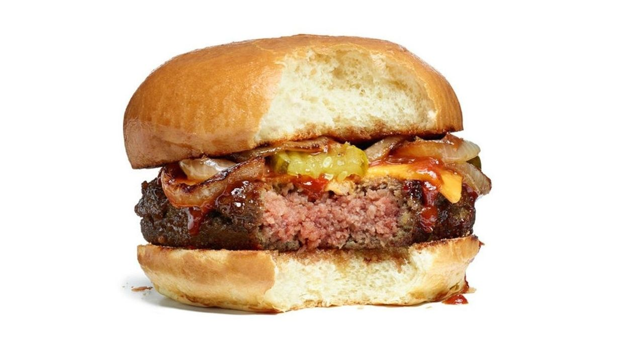 ​Vegan burgers make men feel fuller than beef, study finds