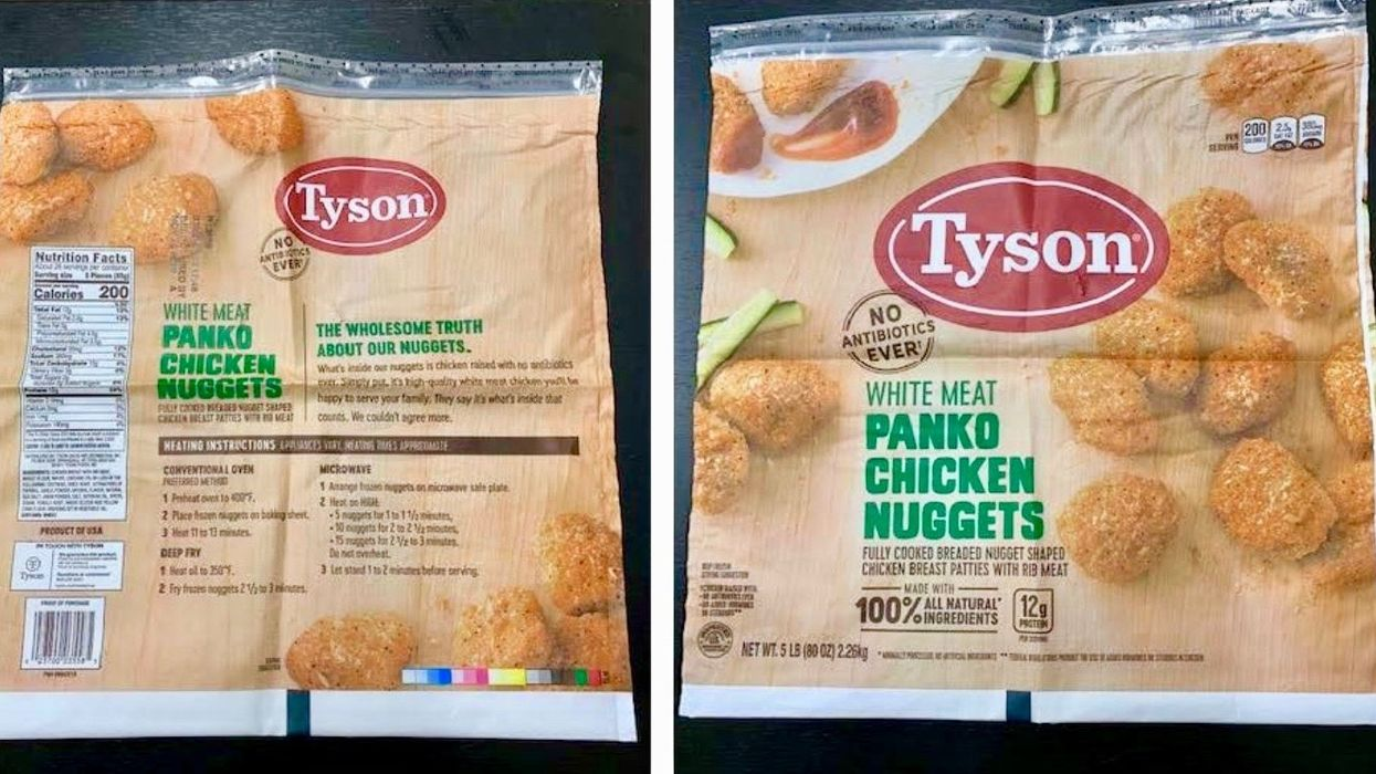 Tyson, Perdue Recall More Than 120,000 Pounds of Chicken Nuggets Combined