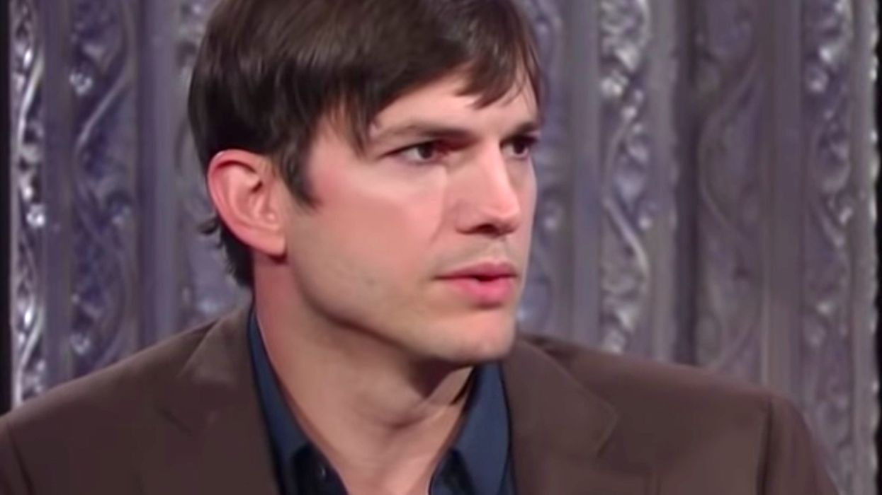 Ashton Kutcher posted a powerful video about abortion, and it's going viral