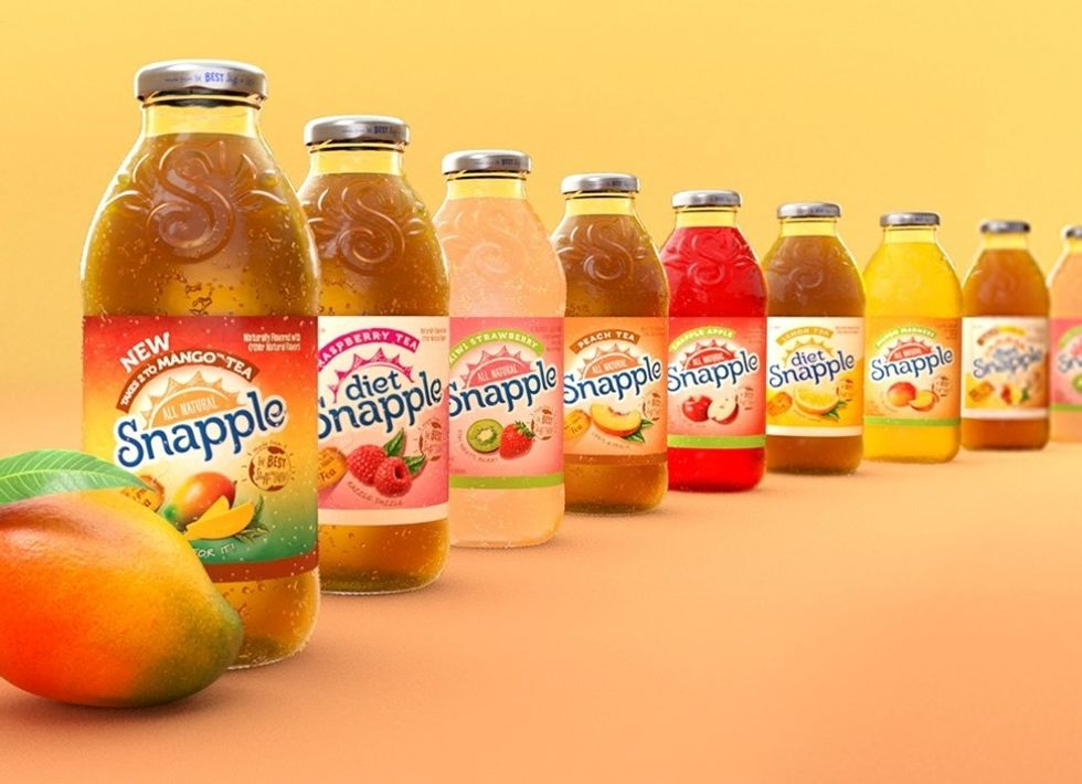 50 'Real Facts' From Snapple You Found Out When You Were Today Years Old