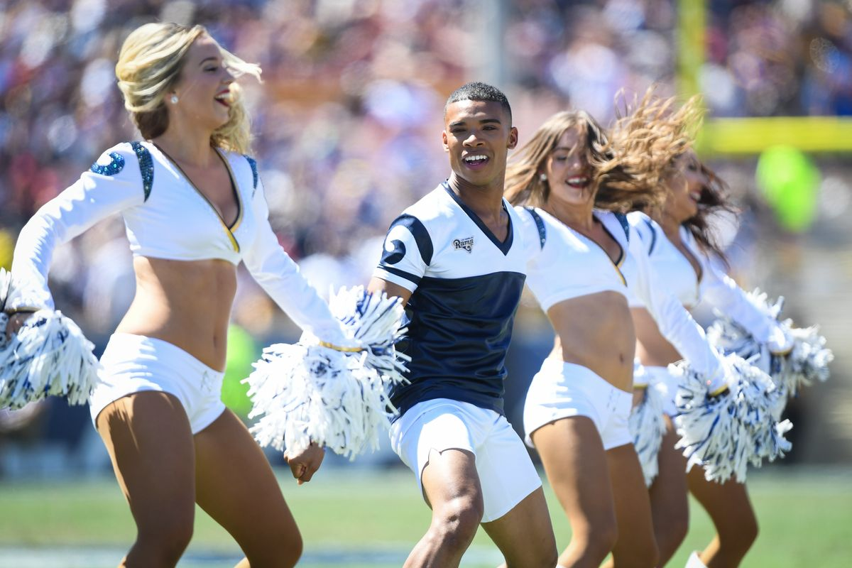 Male Cheerleaders Will Make History at This Year's Super Bowl