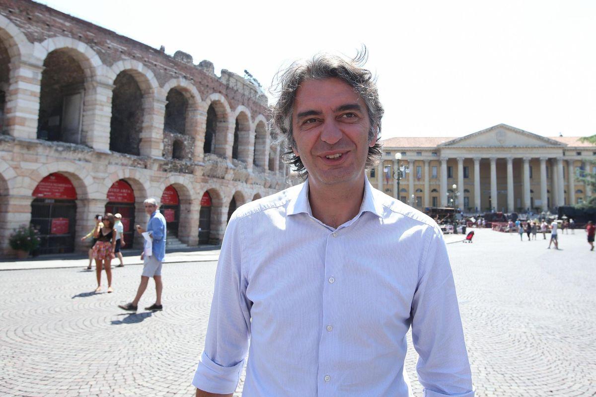 «Verona è la città dell'amore e della vita. La sinistra e Tosi sono in malafede»