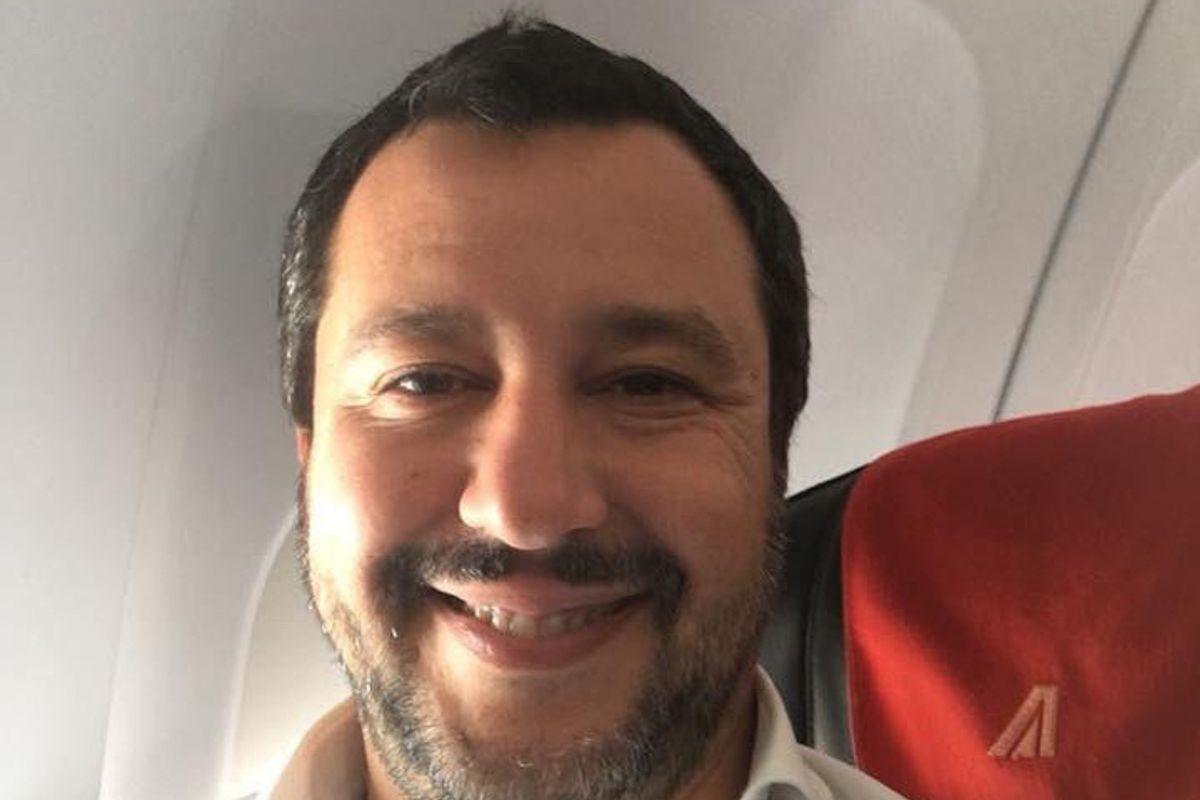 Salvini: «Chiuderò gli aeroporti ai charter di immigrati da Berlino»