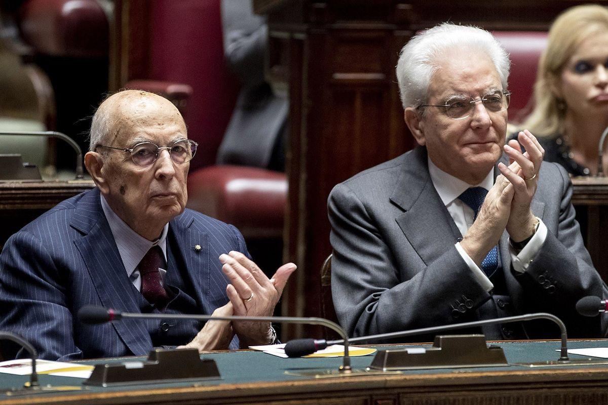 Mattarella e Napolitano lavorano all'inciucio