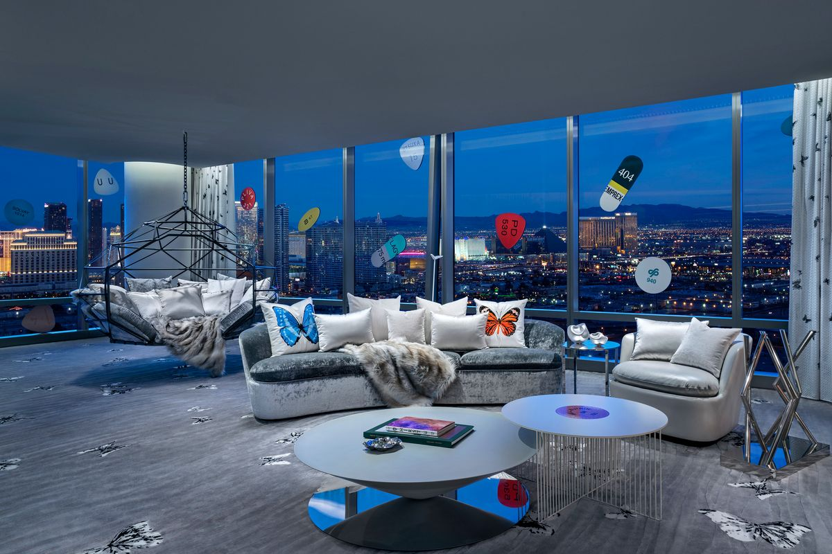 Damien Hirst's Vegas Suite Is the Most Extra Thing We've Ever Seen