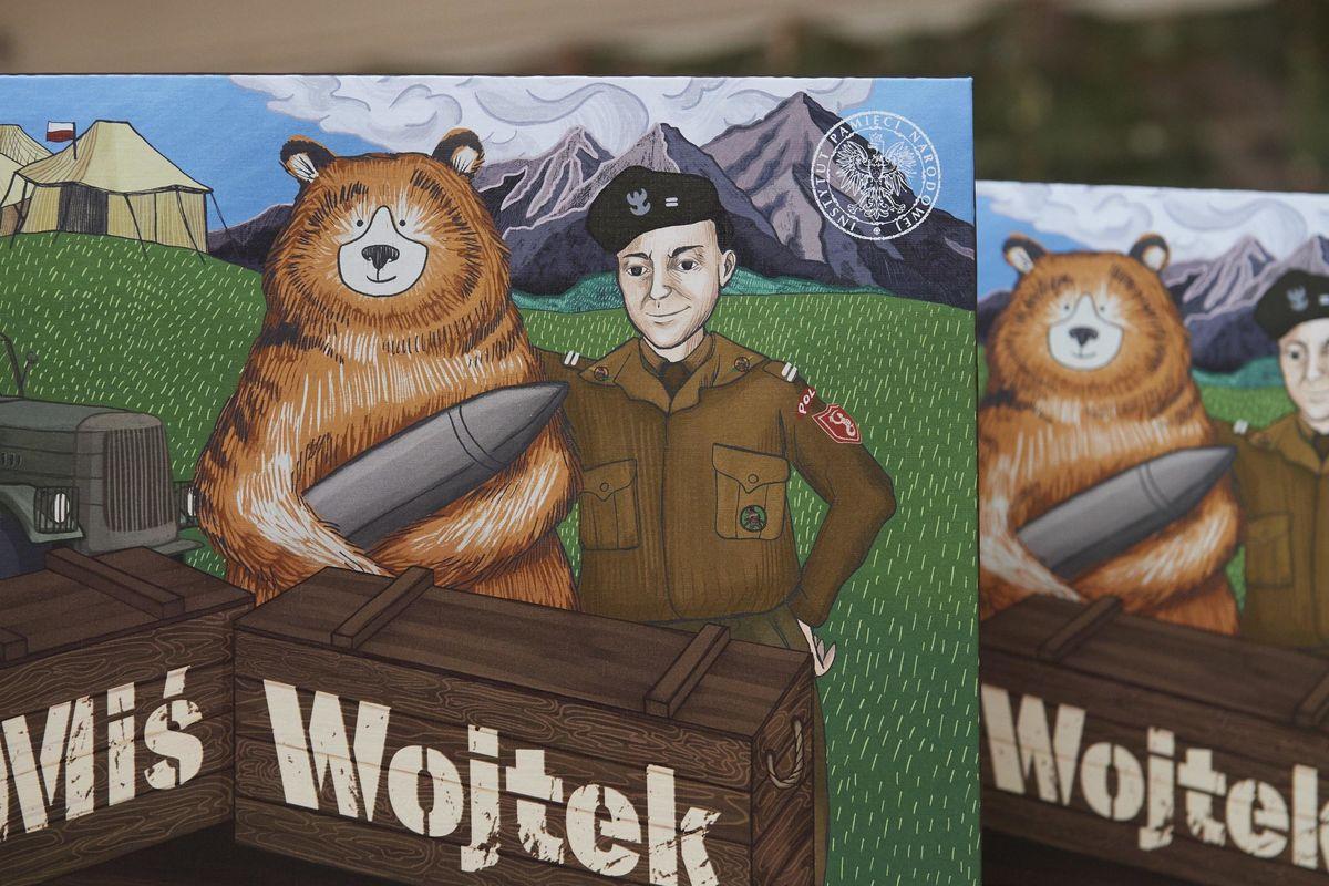 Wojtek, orso soldato che andava pazzo per birra e sigarette