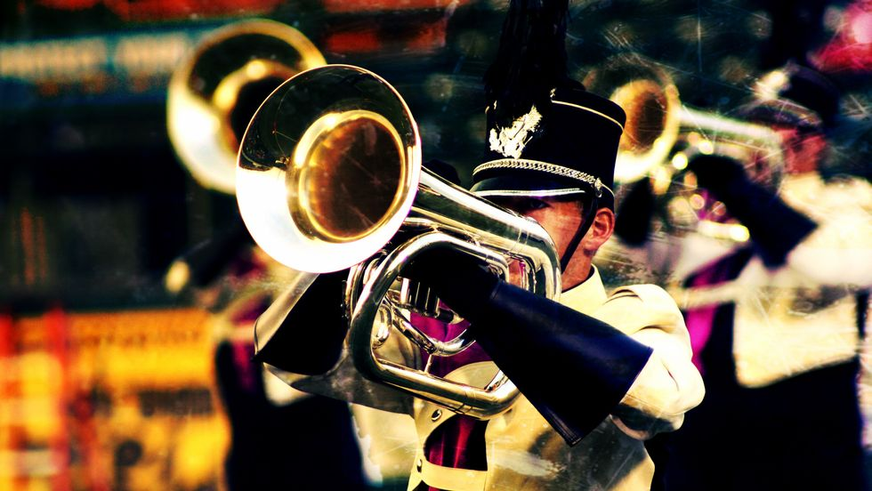 Marching Solely Baritones At Trombones' Expense Is The Cowardly Option