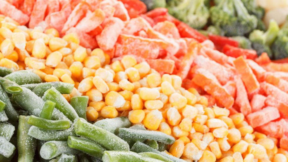 What is the healthiest frozen food?