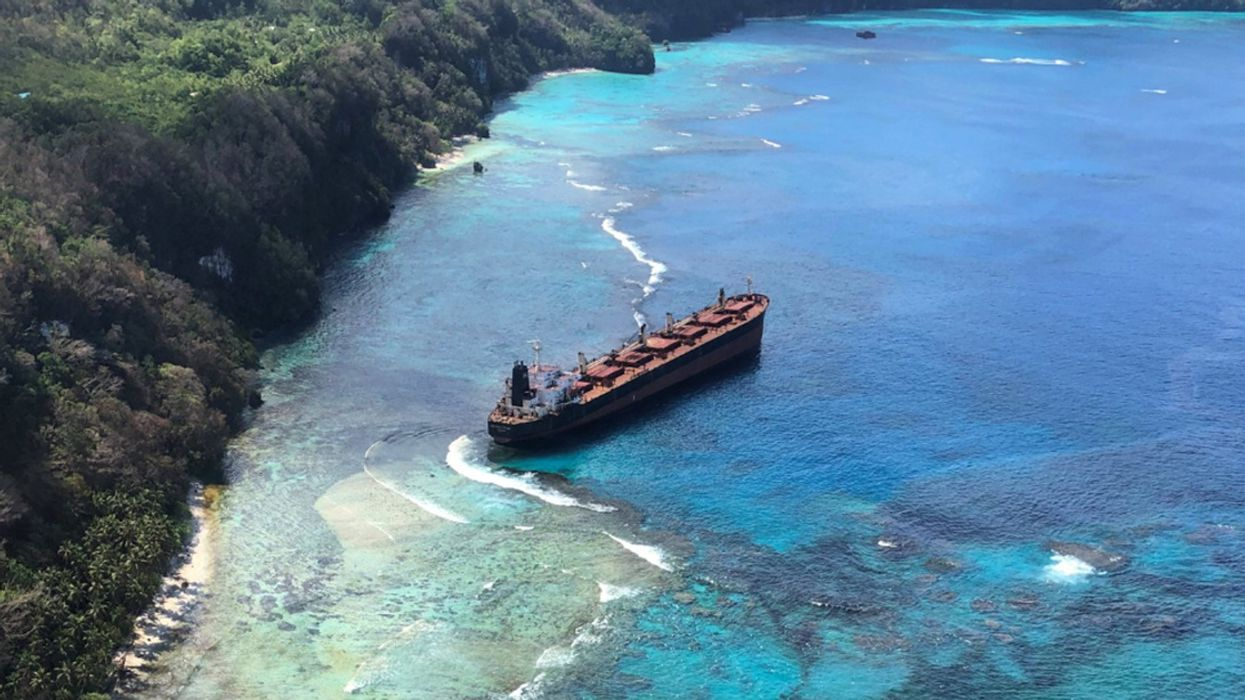 'Devastating' Impacts Feared as Oil Spill Threatens UNESCO Heritage Site in Pacific