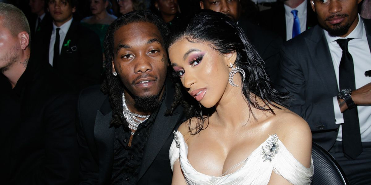 Cardi B and Offset Eat Lobster, Listen to 'Wonderwall'