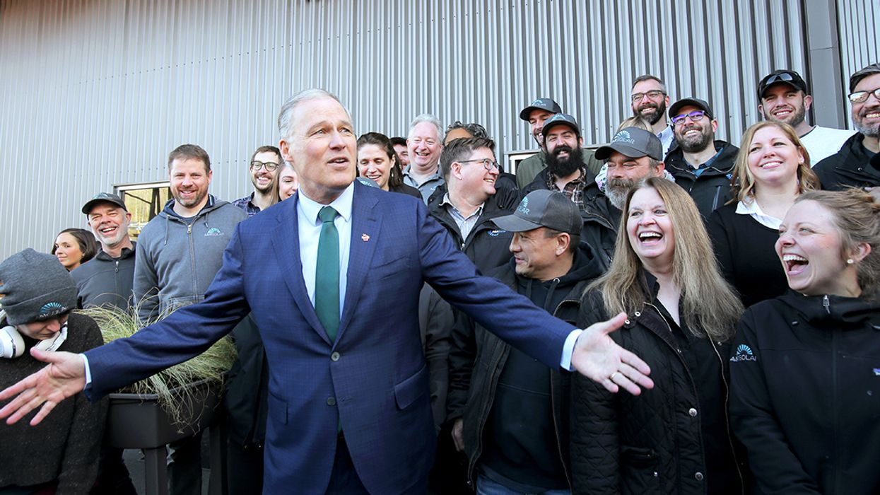 Washington Governor Jay Inslee Launches Climate-Focused Presidential Bid