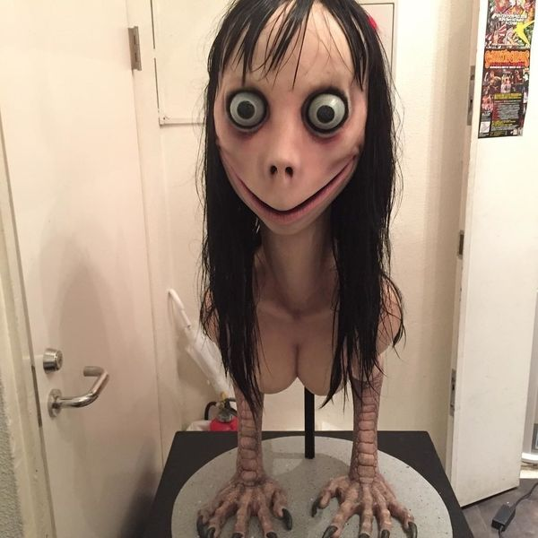 The Artist Behind Momo Has Destroyed His Cursed Creation