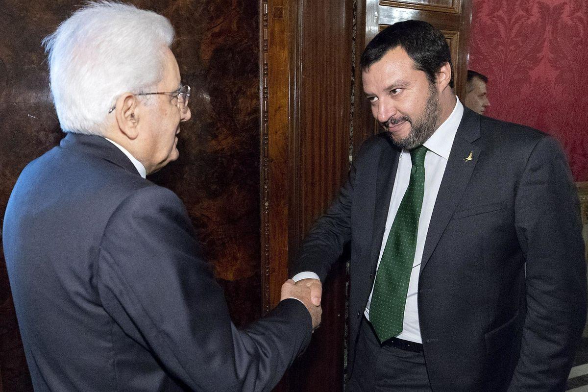 Mattarella fissa molti paletti ma non riesce a respingere Salvini