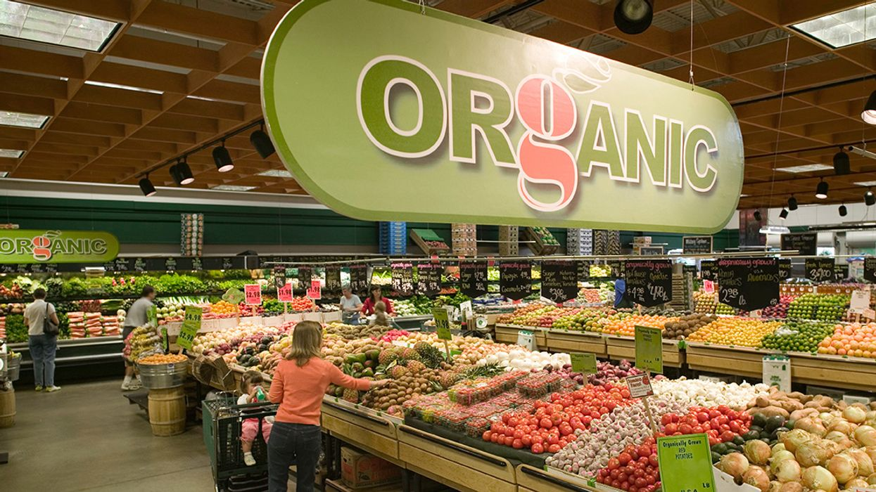 Organic Foods Are the Only 'Clean' Packaged Option for Consumers