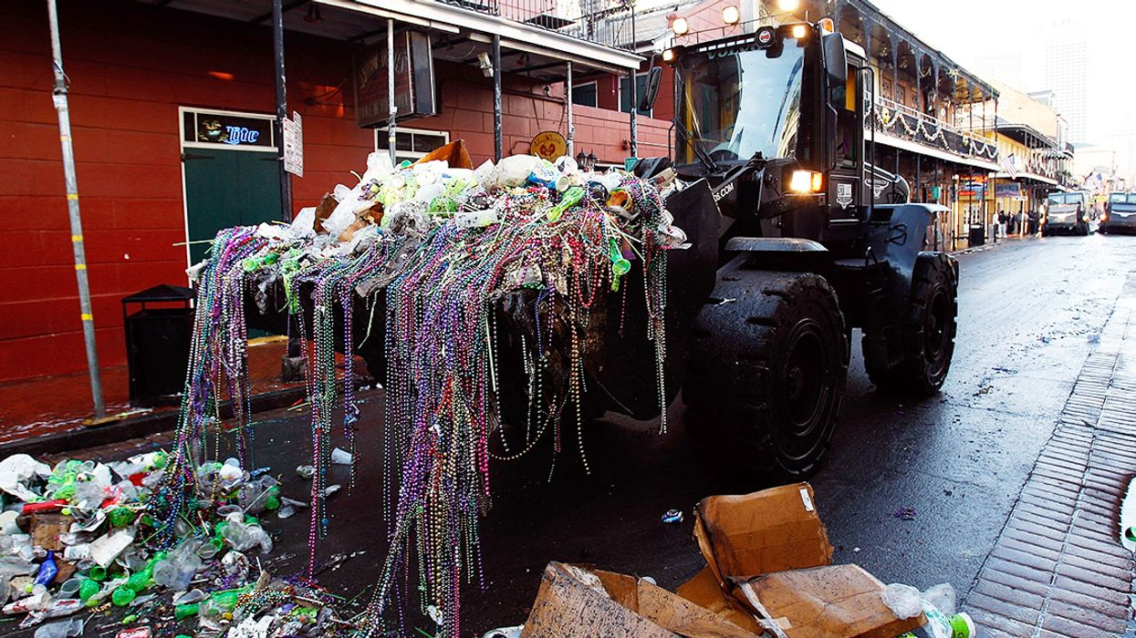 Could Mardi Gras' Most Iconic Accessory Get a Sustainable Makeover?