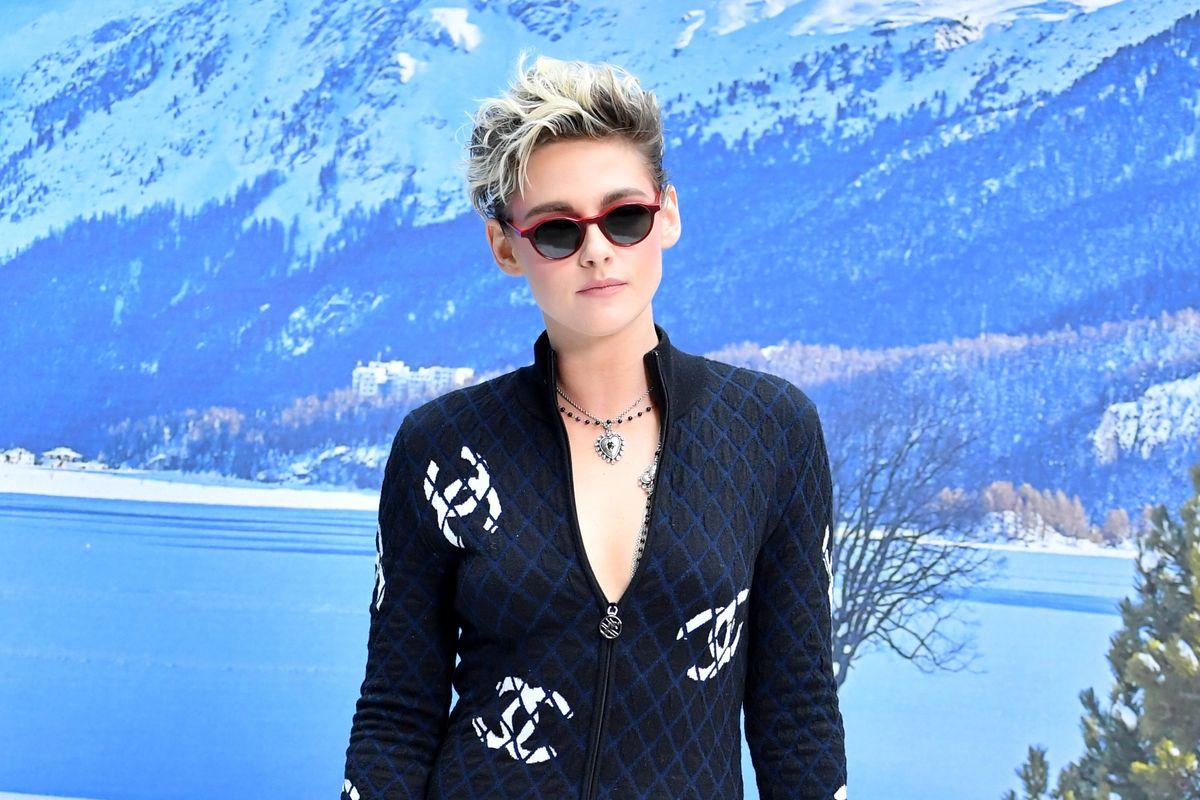 Kristen Stewart Wears Quilted Catsuit to Chanel