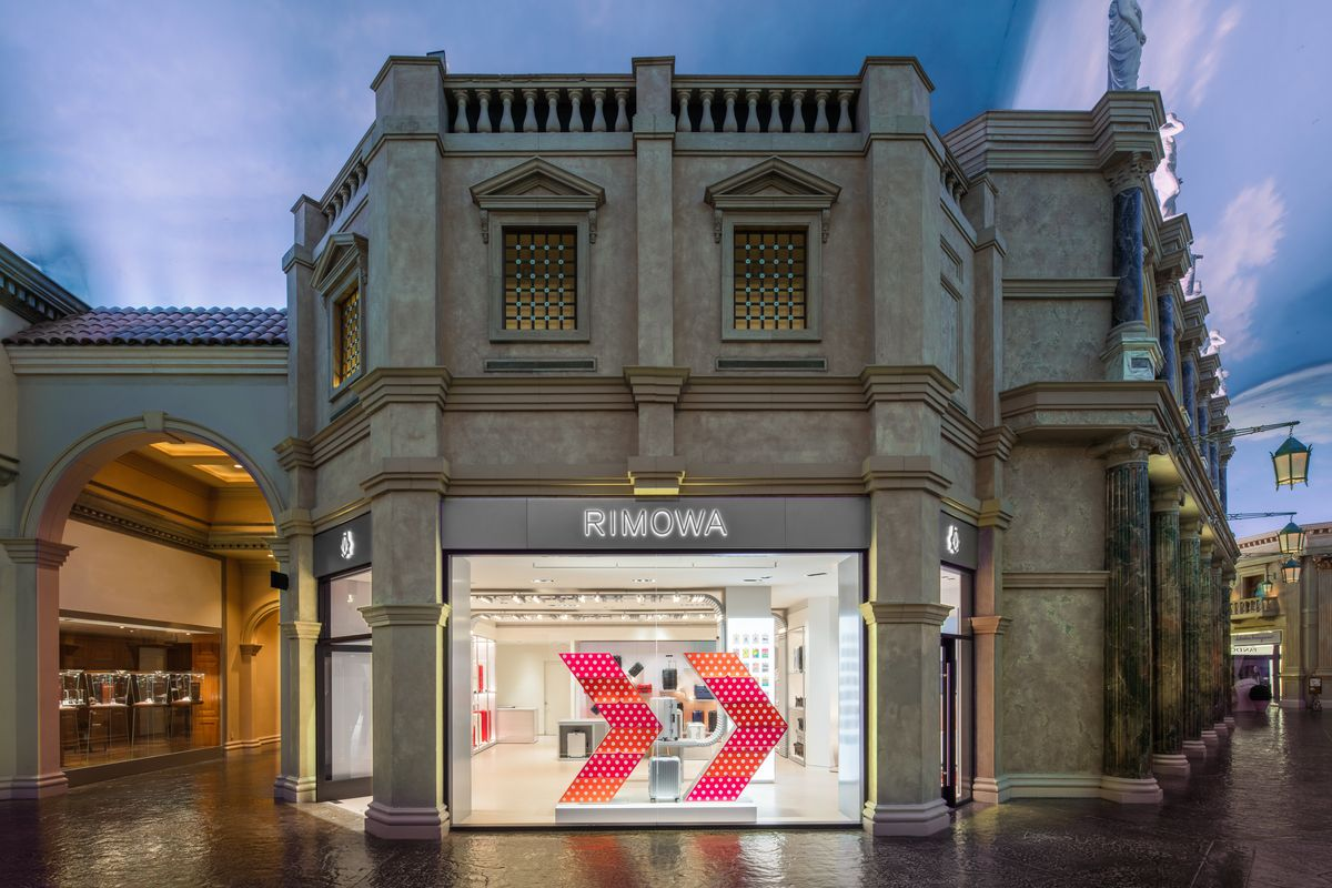 Rimowa Opens Up New Vegas Shop