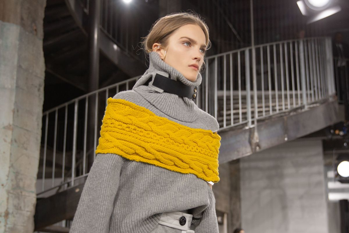 A Brave New Way to Layer at Sacai