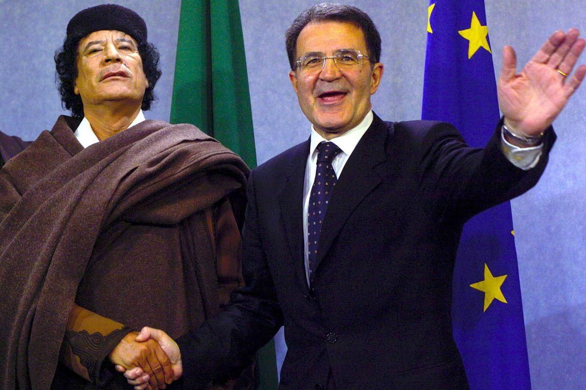Il ruolo del cassiere di Gheddafi che guidava la fondazione di Prodi
