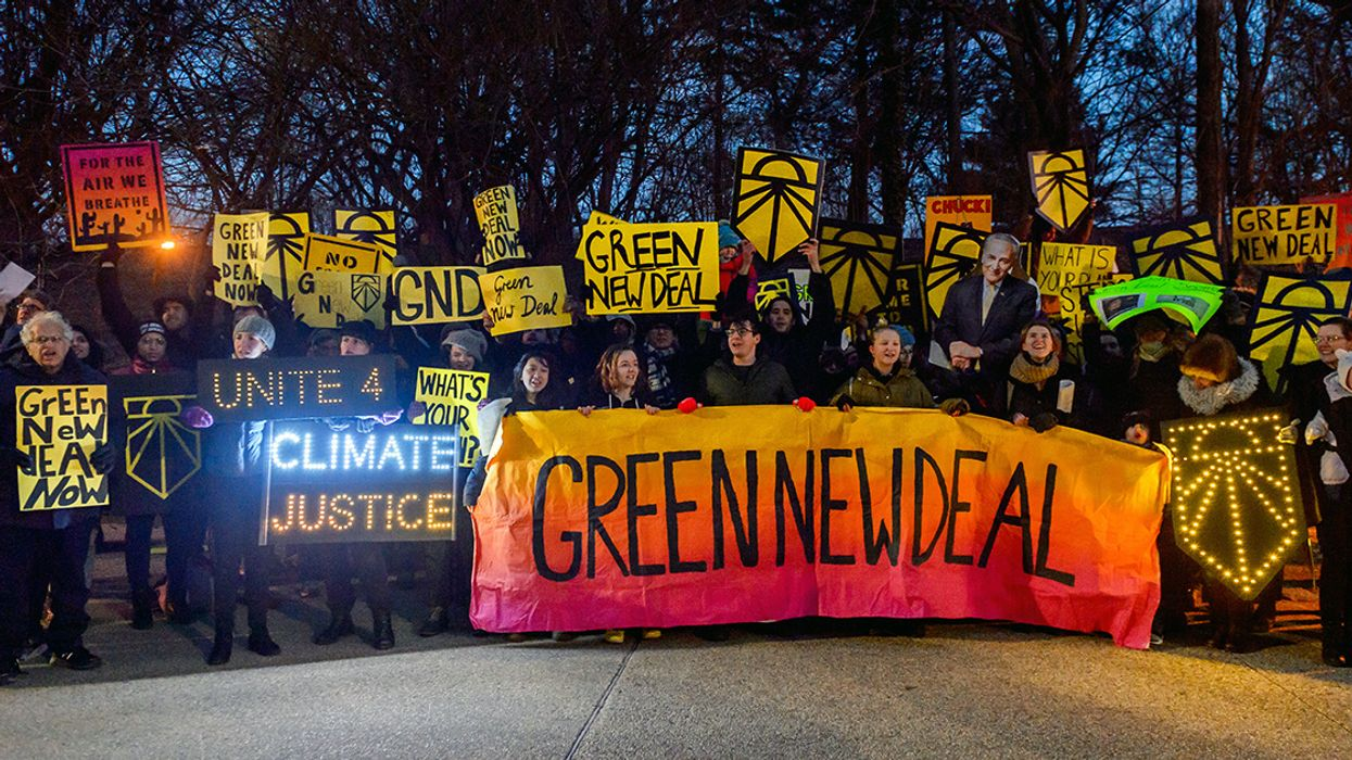 Senate Showdown Over Green New Deal