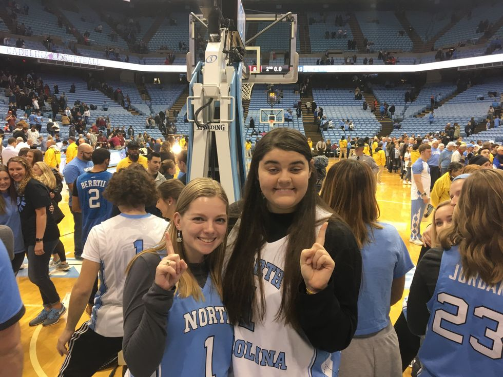 Tar Heel Born Or Tar Heel Bred, Here Are 13 Thoughts Every UNC Student Has Had While Standing In The Risers