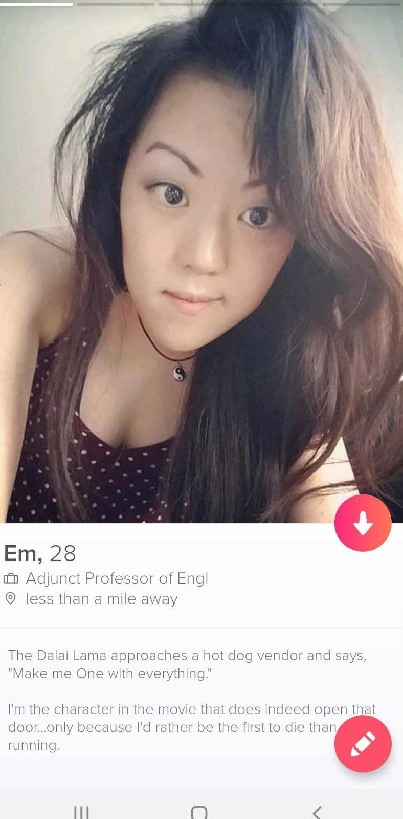 I'm an Asian Woman on Tinder: An Analysis of My Inbox - Popdust