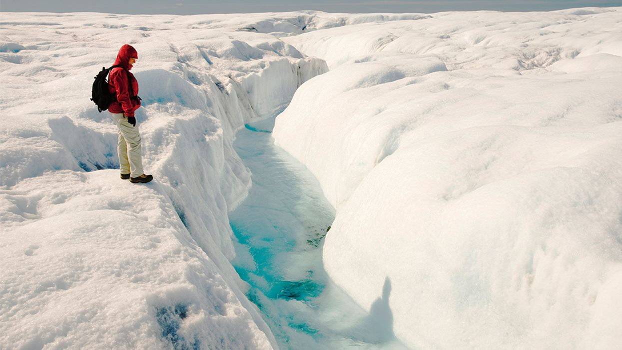 Rain Is Melting Greenland's Ice, Even in Winter