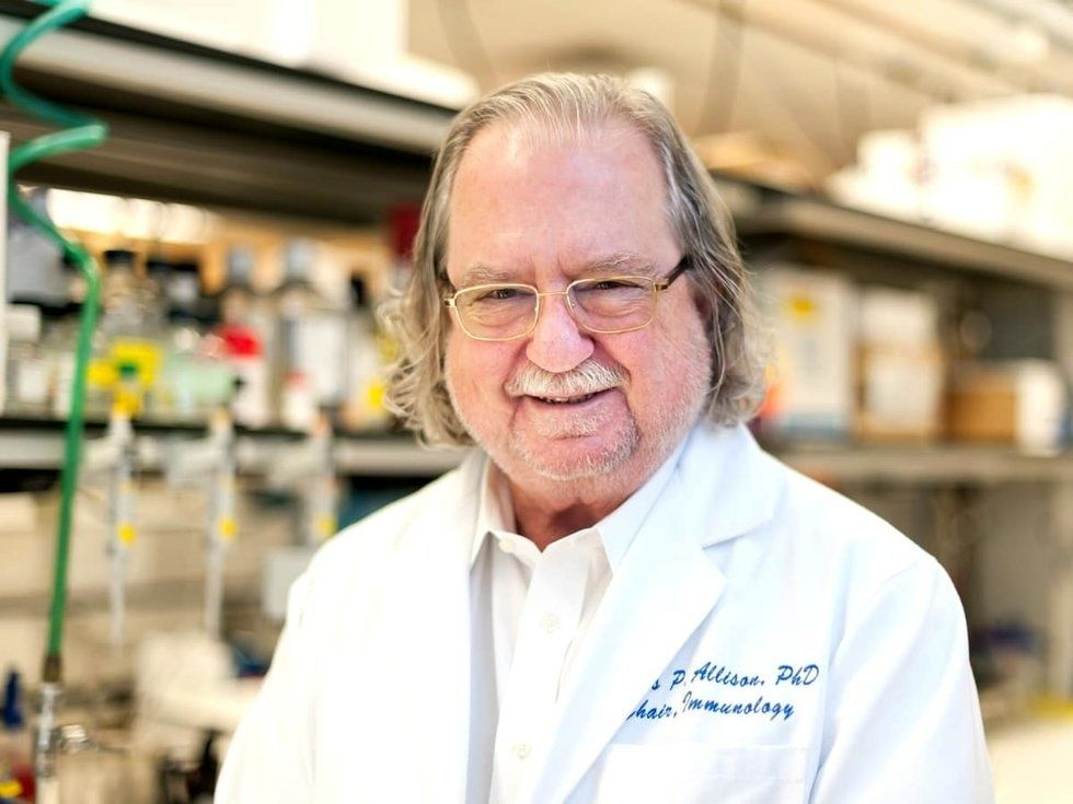 Jim Allison MD Anderson