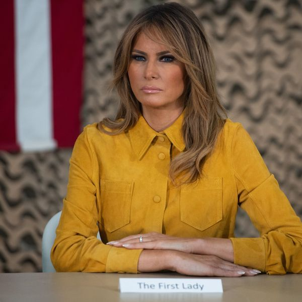 The 'Fake Melania' Conspiracy Is Back