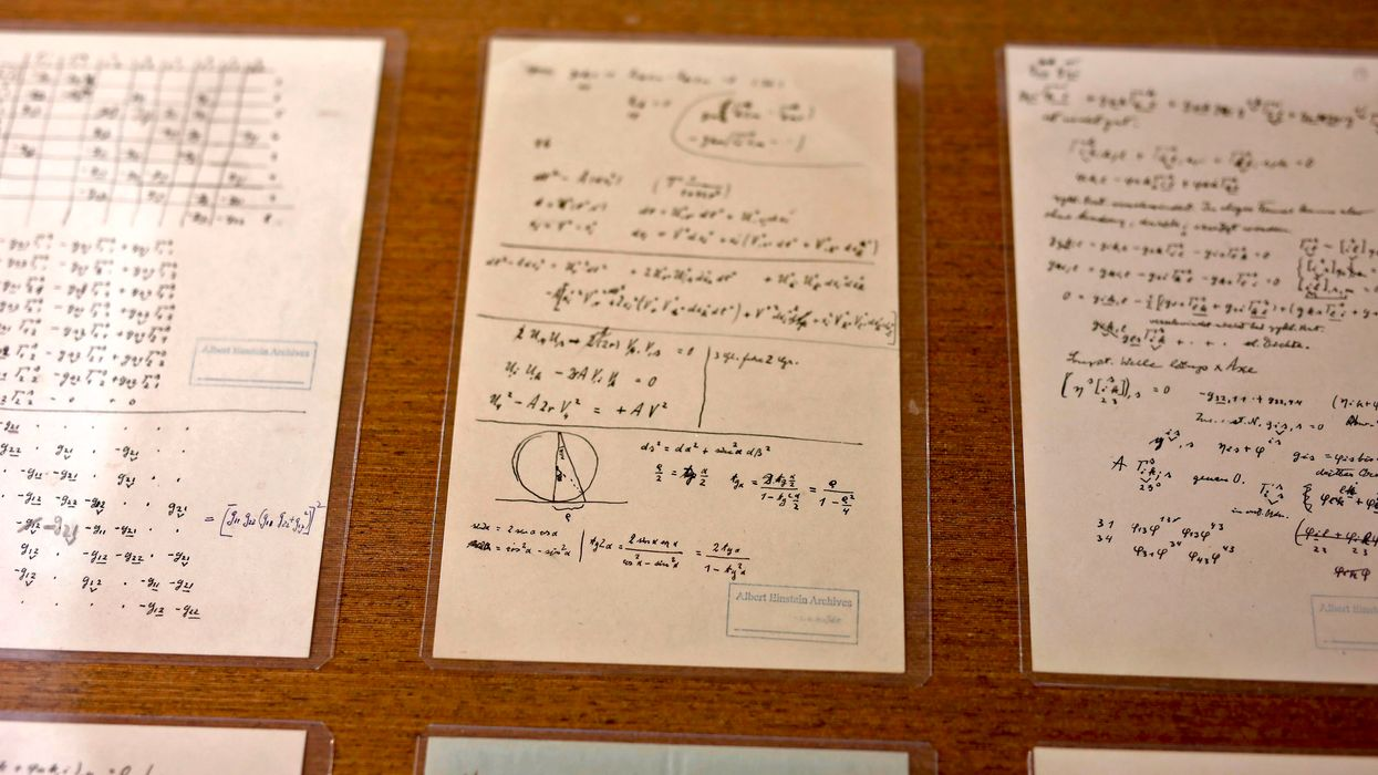 The missing 'puzzle' page of Einstein's unified theory of everything found