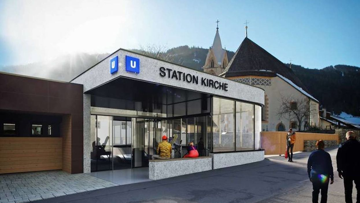 Why this Austrian village has its own metro system — it's less than one-mile long