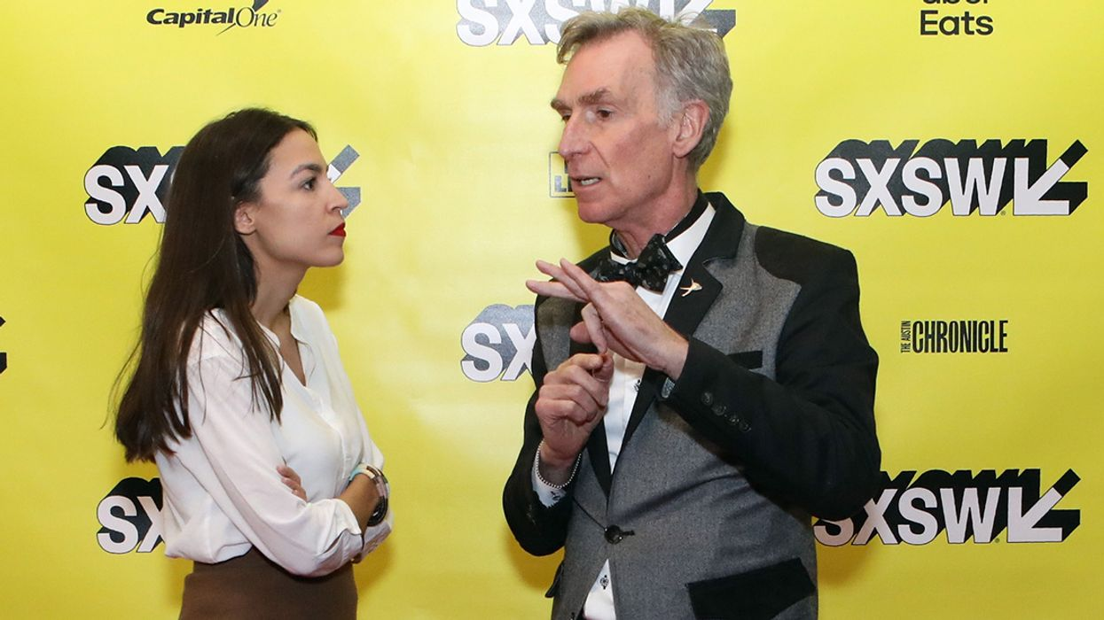 'AOC Gets It': Bill Nye Supports Ocasio-Cortez and Her Efforts to Fight Climate Change