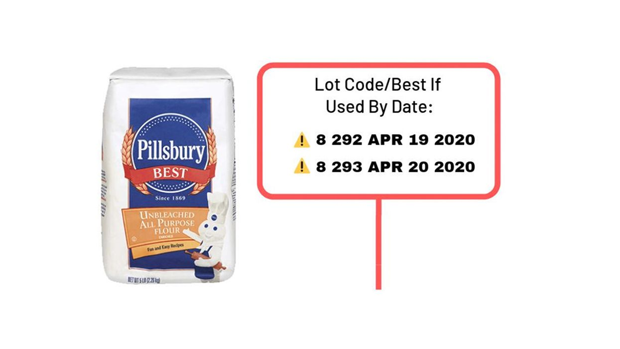 Pillsbury Flour Recalled Due to Salmonella Risk