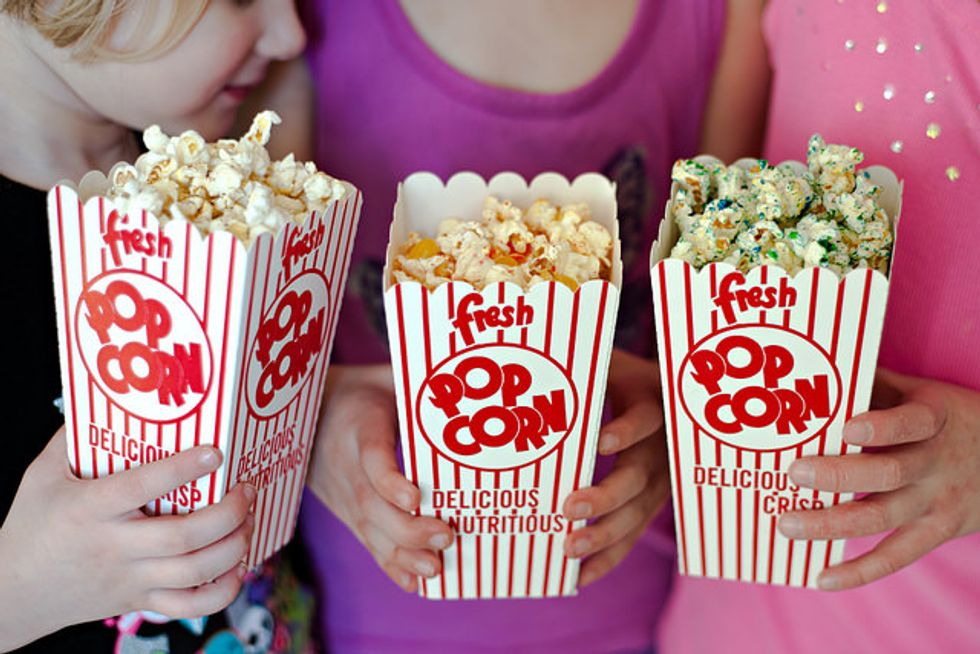 Talking, Crying, Chewing, What Ever Happened To Movie Theater Etiquette?