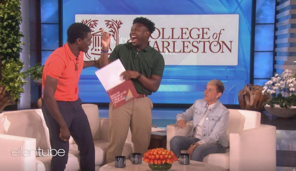 To Jaheim Prezident and Darius Smith, Future Black Educators At College Of Charleston