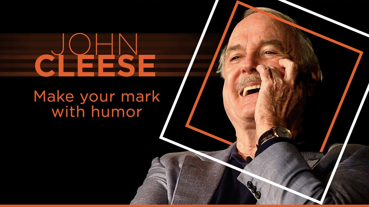 Steal from your heroes: John Cleese on Big Think Edge