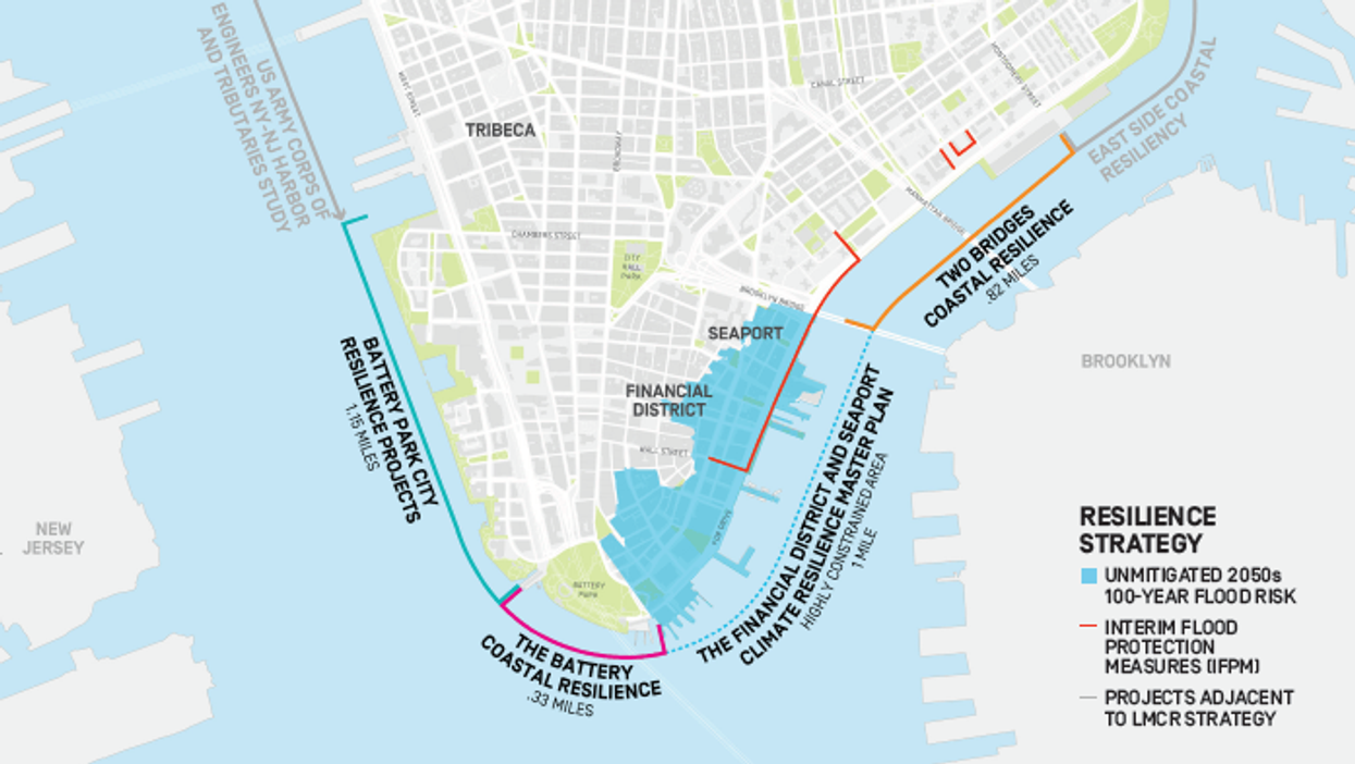 NYC plans to expand Manhattan to protect against rising seas