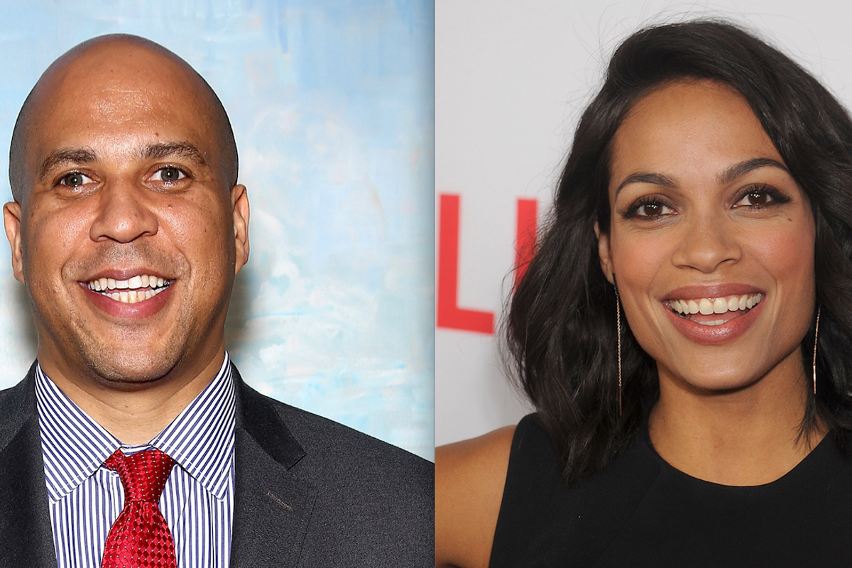 Rosario Dawson and Cory Booker Are Officially an Item