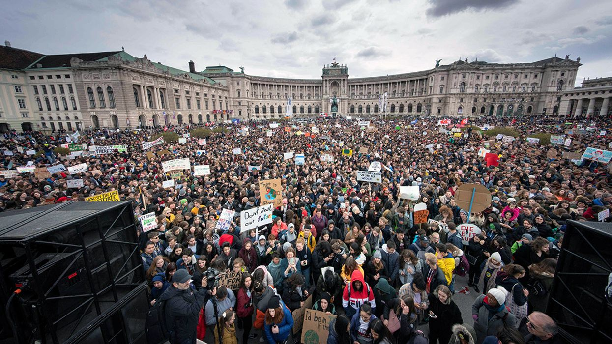 Student-Led Climate Strikes Happening in 130+ Countries