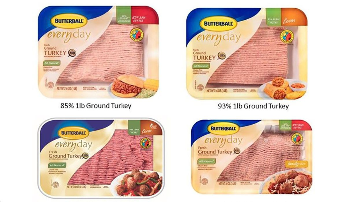 78,000+ Pounds of Ground Turkey Recalled Over Possible Salmonella Contamination