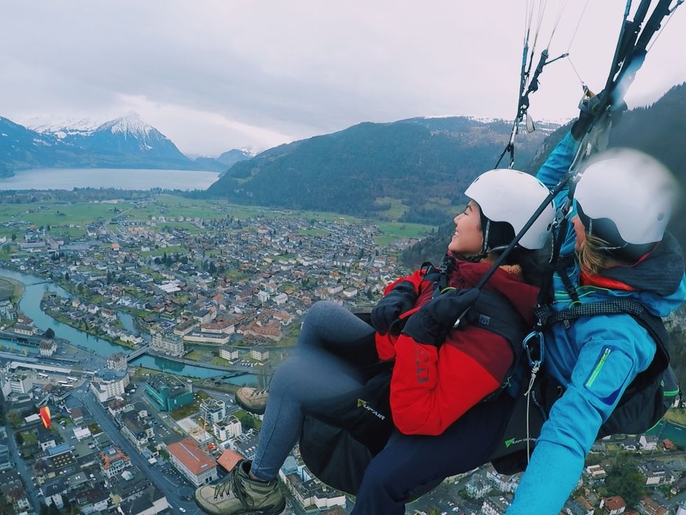 I Went Paragliding In The Swiss Alps, And It Was Nothing Like I Could Have Ever Imagined