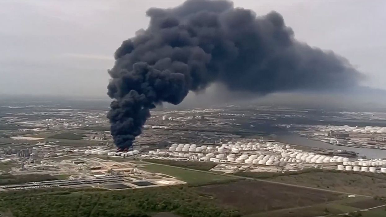 Fire Continues at Texas Petrochemical Plant as Company's History of Violations Gets Renewed Scrutiny