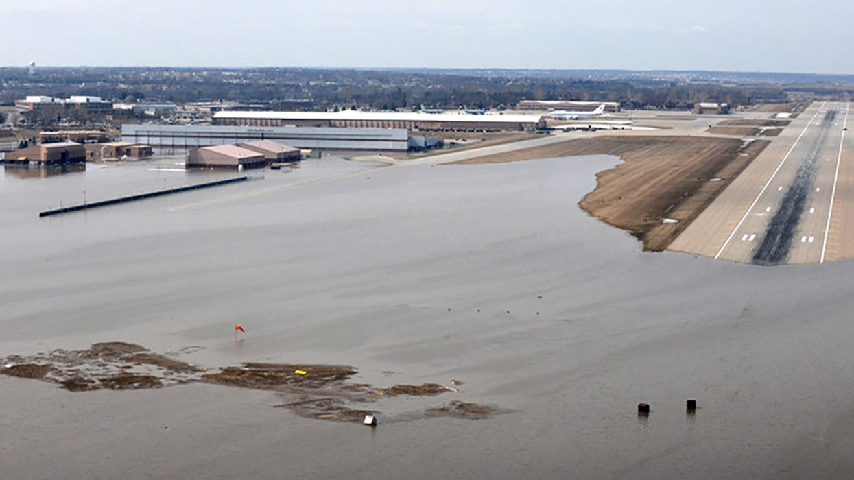 Flooding of Nebraska Air Force Base Illustrates Security Risk Posed by Climate Change