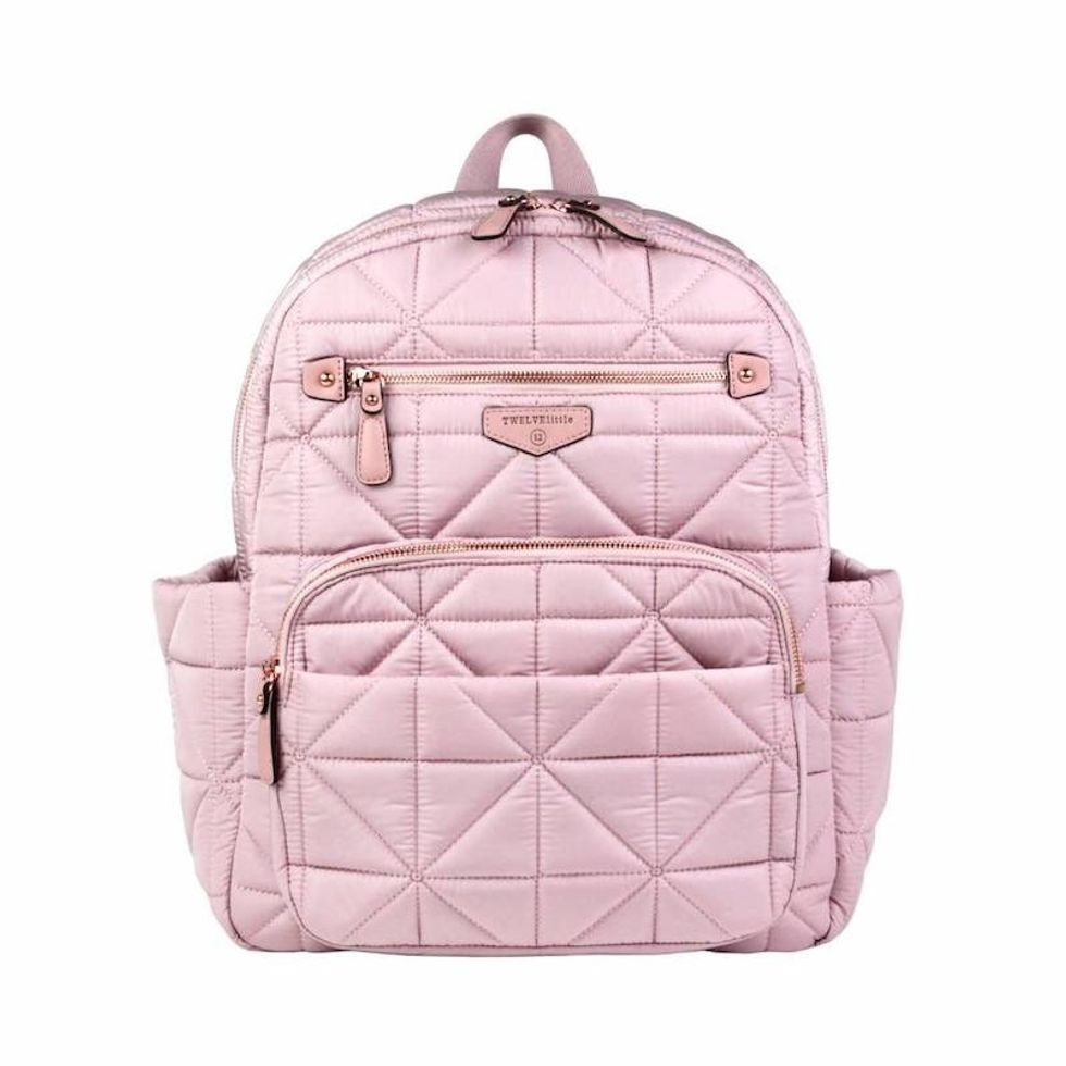 companion quilted backpack diaper bag